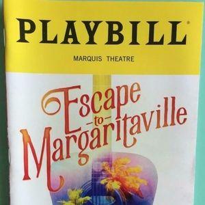 Playbill Escape to Margaritaville Alison Luff 2018